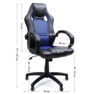fauteuil songmics OBG56L